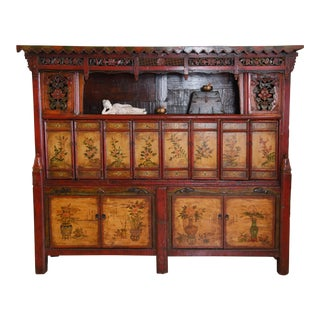 Temple Book Cabinet For Sale