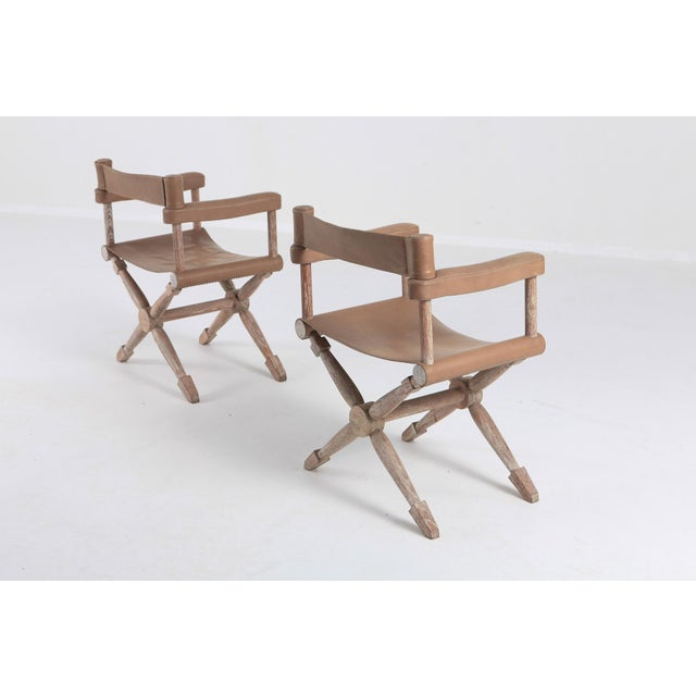Paul Rodocanachi Art Deco 'Rodo' Chairs for Jean-Michel Frank For Sale - Image 4 of 13