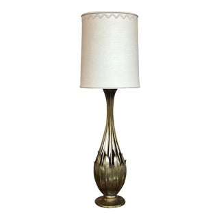 Hans Grag Bronze Table Lamp For Sale