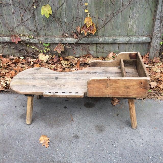 Antique Primitive Wood Cobbler S Bench Chairish