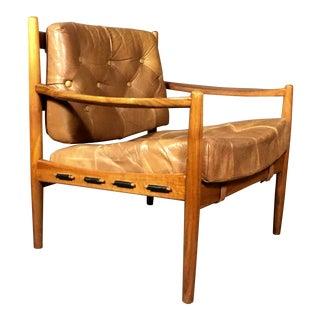 Ingemar Thillmark Läckö Hög Lounge Chair, Ope, Sweden, 1960s