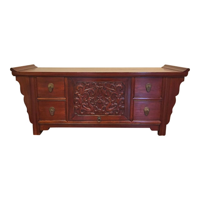 Authentic Chinese TV Cabinet - Image 1 of 8