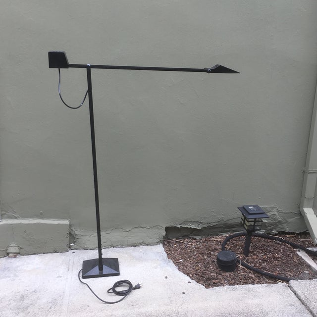 Metal 1980 Tizio Style Halogen Floor Lamp For Sale - Image 7 of 11