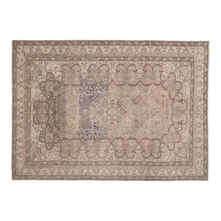 Antique Turkish Sparta Rug With Romantic Venetian Regency Style 6'11'' X 9'8'' For Sale