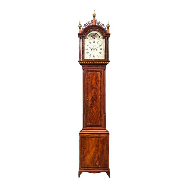 Simon Willard Roxbury Tall Case Clock For Sale