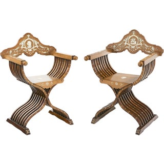 19th Century Savonarola Chairs