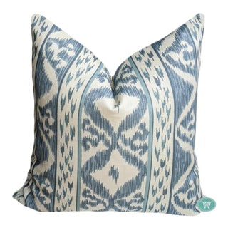 Rapallo in Blue by Cowtan & Tout - Pillow Cover For Sale