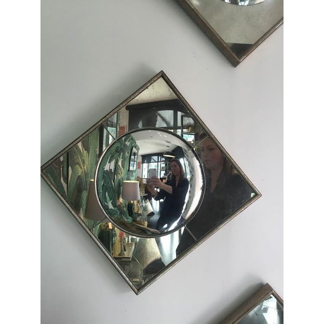 Silver Leaf Wall Mirrors- A Pair - Image 4 of 6