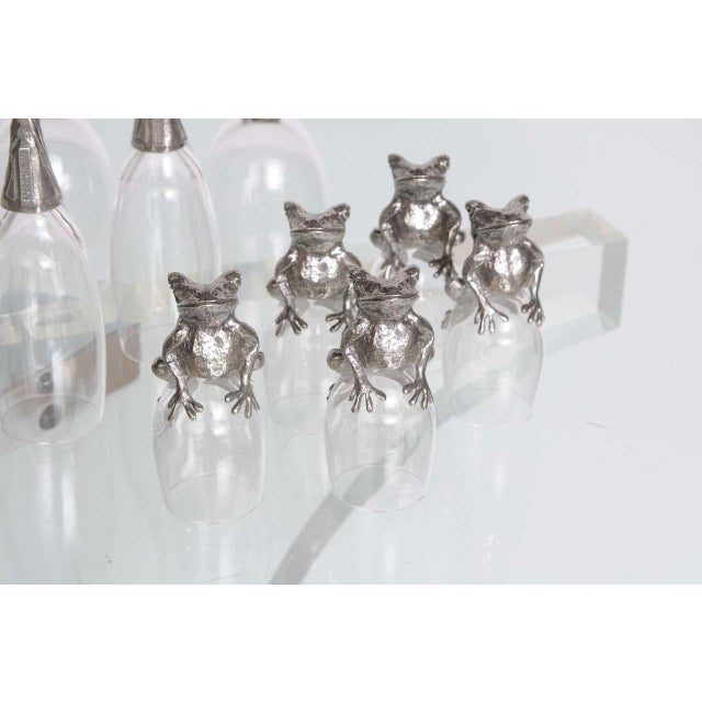 Whimsical Animal Themed Grouping of Stemware - Set of 26 For Sale - Image 4 of 10