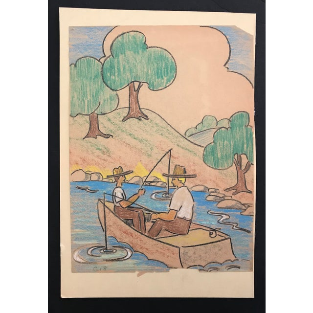From the estate of Evelyn Notman Underwood (1898-1983) an upstate New York painter, author and illustrator. A graduate of...