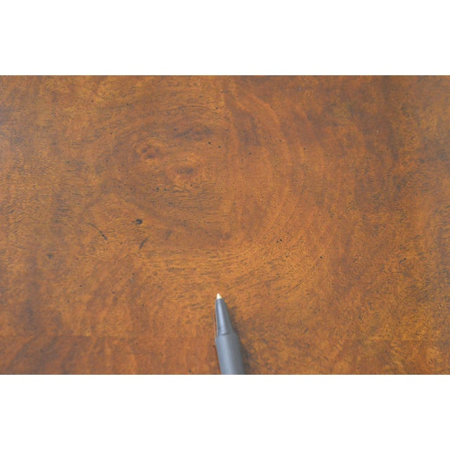 Mahogany Henredon Rittenhouse Square Collection Mahogany Chippendale Ball & Claw Banded Dining Table For Sale - Image 7 of 13