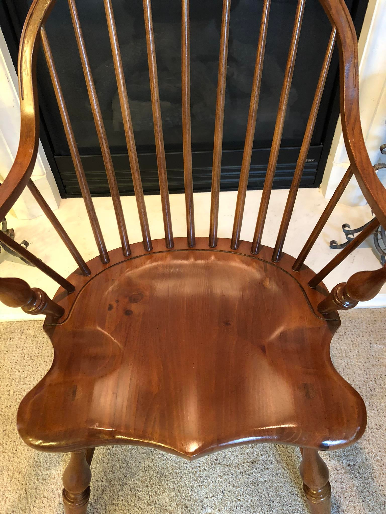 Ordinaire Vintage Thomasville Windsor Chair With Original Label Still Attached. This  Chair Is In Perfect Condition