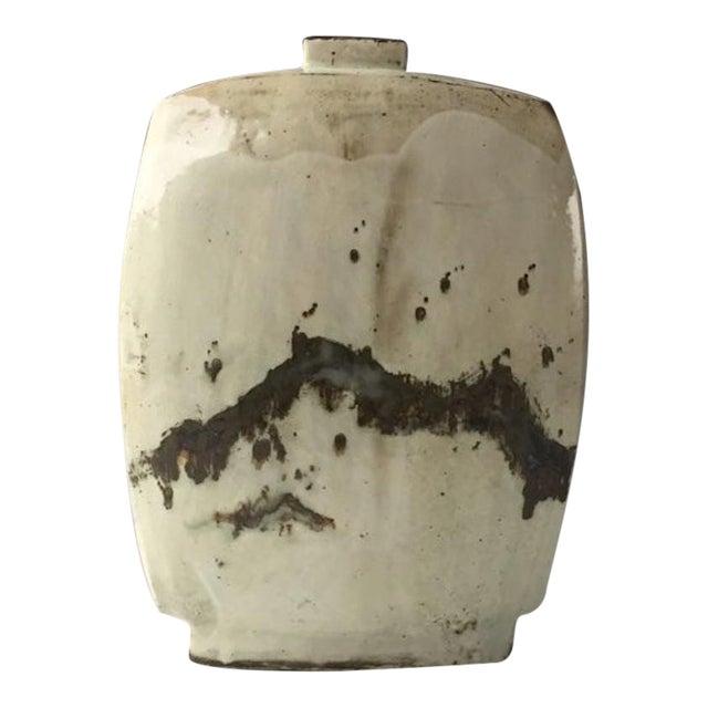 Kang Hyo Lee,, Buncheong, Flat Bottle, 2016 For Sale