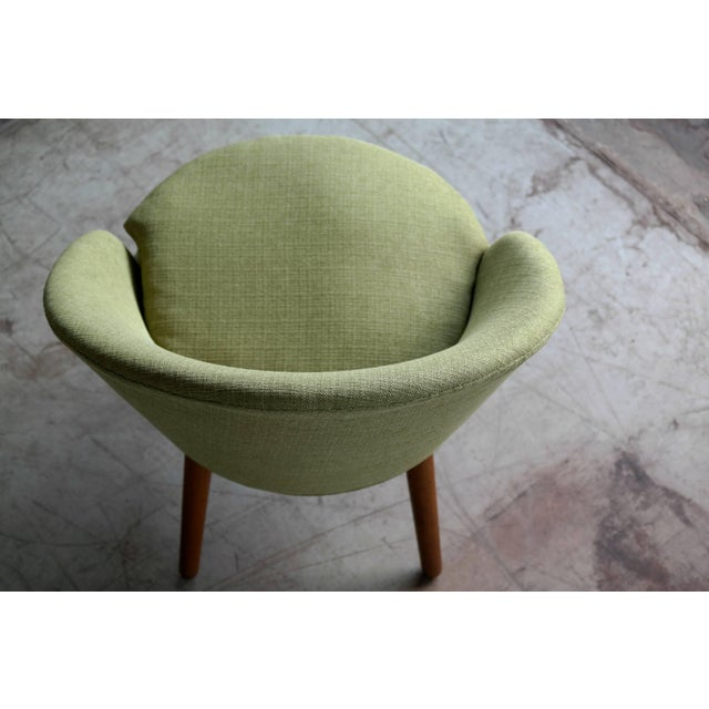 Small Danish Easy Chair Model 301 by Ejvind A. Johansson for Gotfred H. Petersen For Sale In New York - Image 6 of 10
