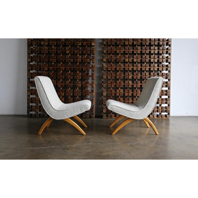 Milo Baughman Scoop Chairs for Thayer Coggin Circa 1955 - a Pair For Sale - Image 13 of 13
