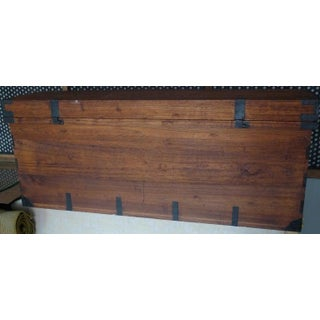 Japanese Nagamochi Chest of Bamboo With Wrought Iron Hardware, Circa 1800s Preview