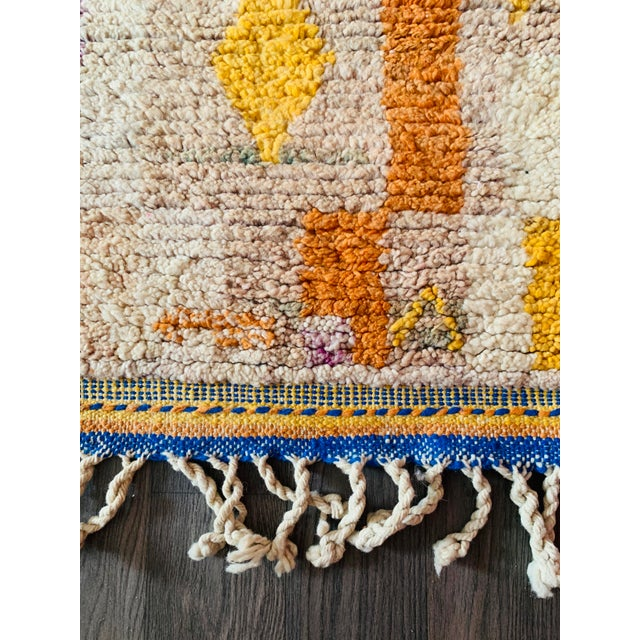 Textile 1950s Moroccan Vintage Runner-2′6″ × 11′ For Sale - Image 7 of 13