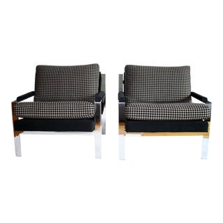 Pair of Cy Mann Lounge Chairs For Sale