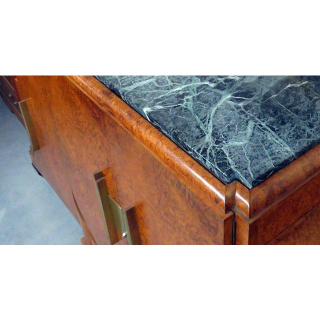 Camard Art Deco Marble-Top Sideboard For Sale - Image 10 of 11