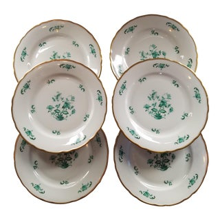 Meissen Jade Winterling Bavaria Small Plates - Set of 6