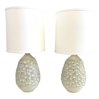 Mid-Century David Cressey Style Lamps Pair For Sale