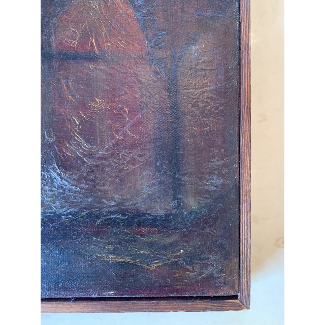 Abstract Late 20th Century Pair of Pears Still Life Painting For Sale - Image 3 of 6