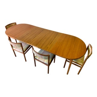 Mid Century Modern Teak 'Ove' Dining Table by Nils Jonsson for Troeds Bjärum, Made in Sweden For Sale