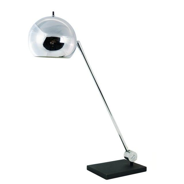 Robert Sonneman Chrome Ball Desk Lamp - Image 1 of 5