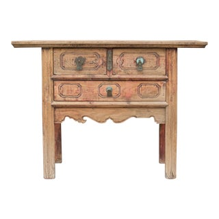 Alluring Antique Ming Style Altar Table For Sale
