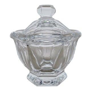 Baccarat Crystal Jam Jar For Sale
