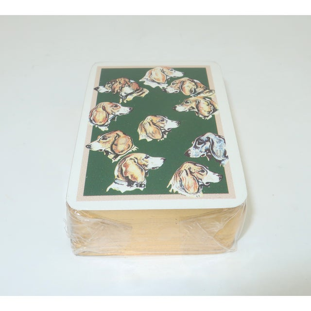 Hermès Hermès Mini Playing Cards With Hound Dog Motif For Sale - Image 4 of 9