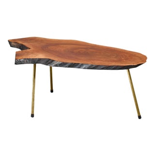 Carl Aubock Tree Trunk Coffee Table, Austria For Sale