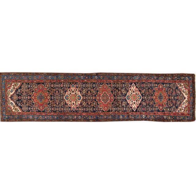 """Vintage Apadana Persian Rug -- 3'2"""" x 13' - Image 1 of 4"""
