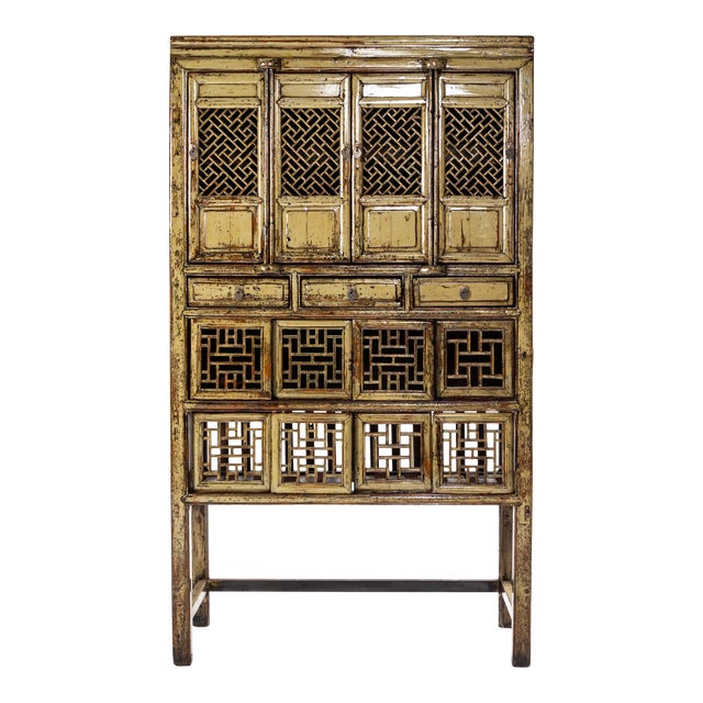 1920s Vintage Chinese Cabinet For Sale