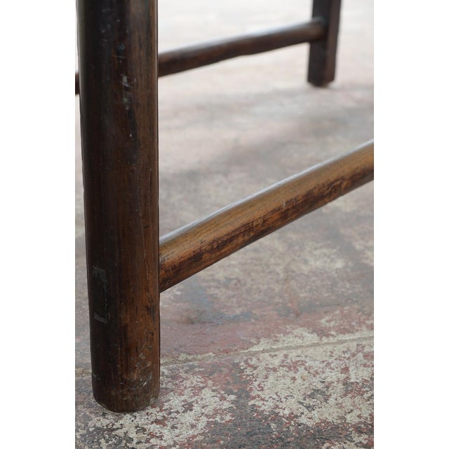 Chinese Antique Wooden Altar Table With Drawers For Sale - Image 4 of 10