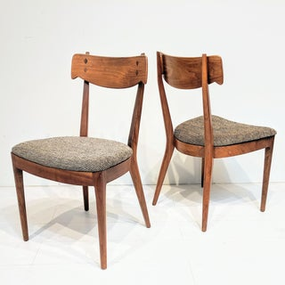Mid-Century Modern Kipp Stewart for Drexel Dining Chairs- A Pair Preview