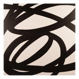 Image of Original Black and White Abstract Painting by Stephen Hansrote For Sale