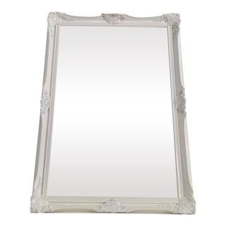 Baroque White Ornate Mirror