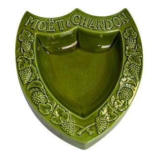 "Vintage ""Moet & Chandon"" French Ashtray"