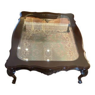 18th Century Coffee Table With Wood and Cherry Wood For Sale