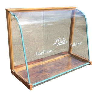 Vintage Mercantile French Perfume Display Case