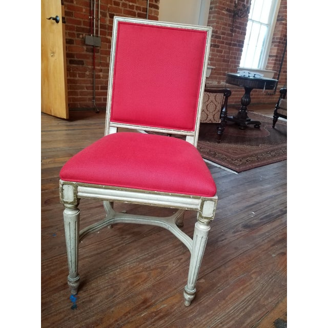 French Provincial 1980s French Provincial Side Chair For Sale - Image 3 of 8