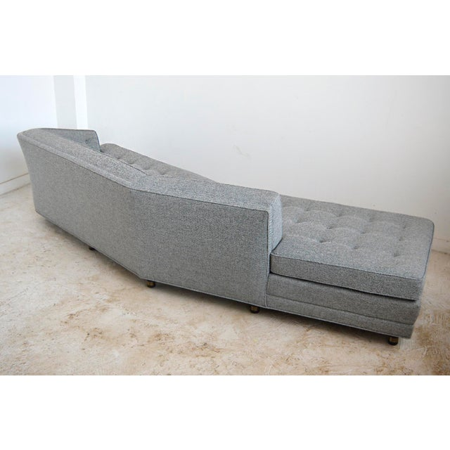 Brass Harvery Probber Large Angled One-Arm Sofa For Sale - Image 7 of 11