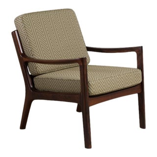 Palisander Armchair by Ole Wanscher, Denmark, 1950s For Sale