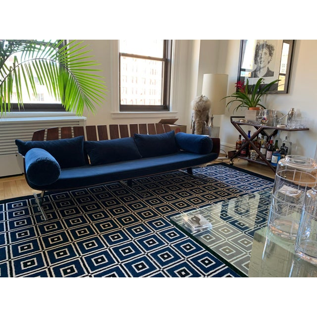 """Iconic """"Presidencial"""" sofa designed by Jorge Zalsupin for L'Atelier in Brazil circa 1960s. This rare and sophisticated..."""