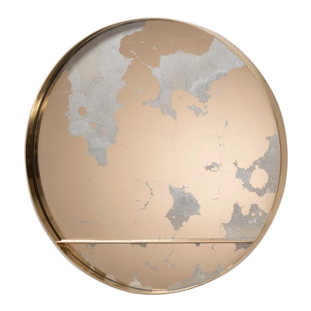 The Orbit Wall Mirror by Emma Peascod For Sale