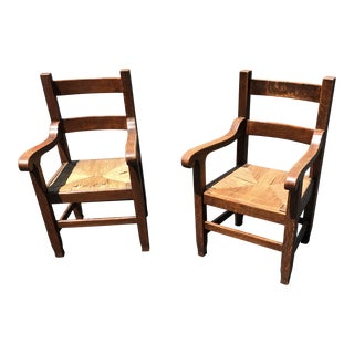 Bernard Maybeck Armchairs - Ca Arts Crafts For Sale