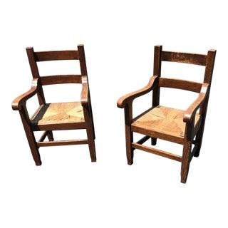 Bernard Maybeck Armchairs - Ca Arts Crafts