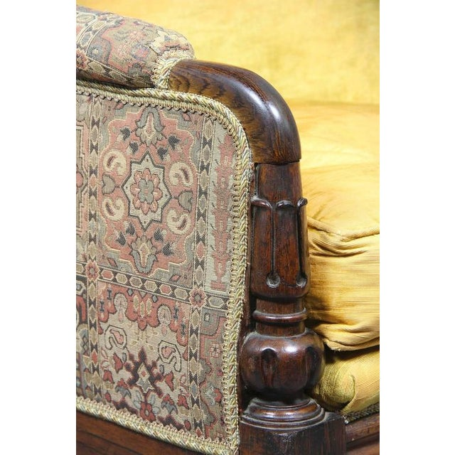 Traditional Grand William IV Rosewood Bergere Chair For Sale - Image 3 of 8