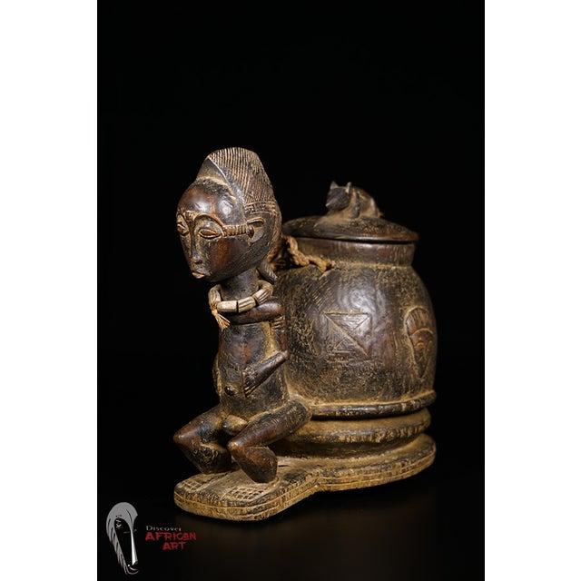 Baule African Tribal Divination Bowl - Image 2 of 11